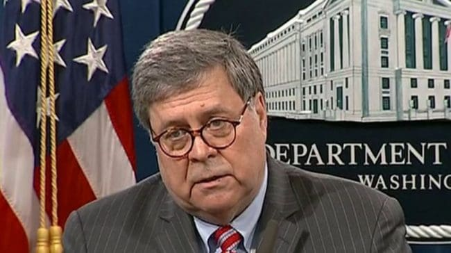 AG Barr Creates Force To Counter Anti-government Extremists.