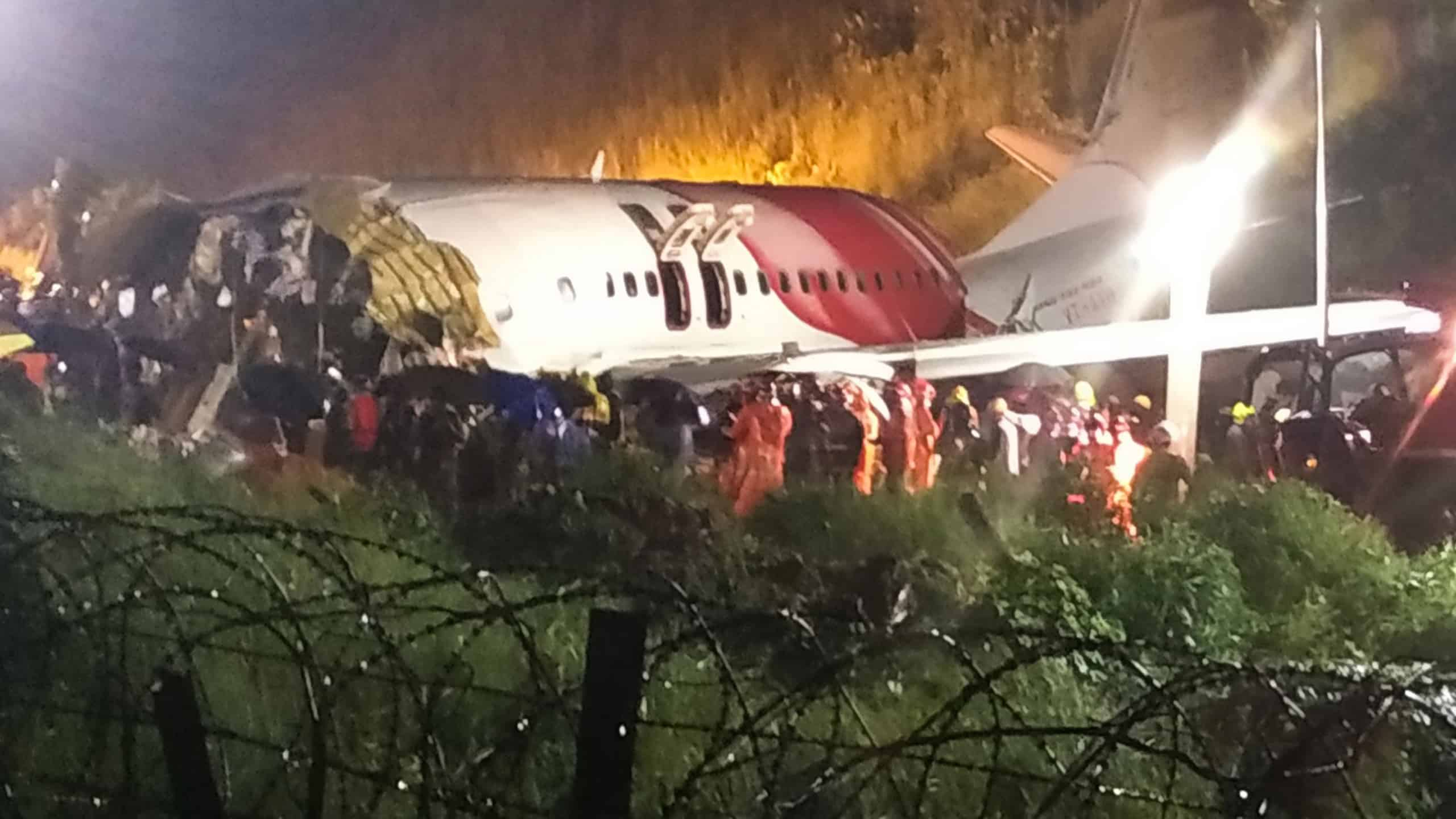 Air India Express Flight With 190 People On Board Skidded Off A Runway