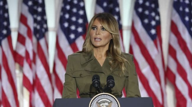 Coronavirus Deaths Drop-In August; Melania Trump Offers Sympathy To Victims