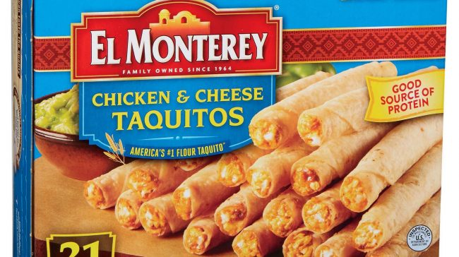 USDA Issues Health Alert For Frozen Taquitos And Chimichangas That May Contain Plastic