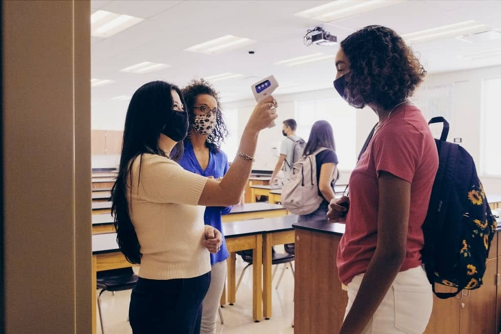 With Sensors And COVID19 Apps, Colleges Are Trying To Track Students.