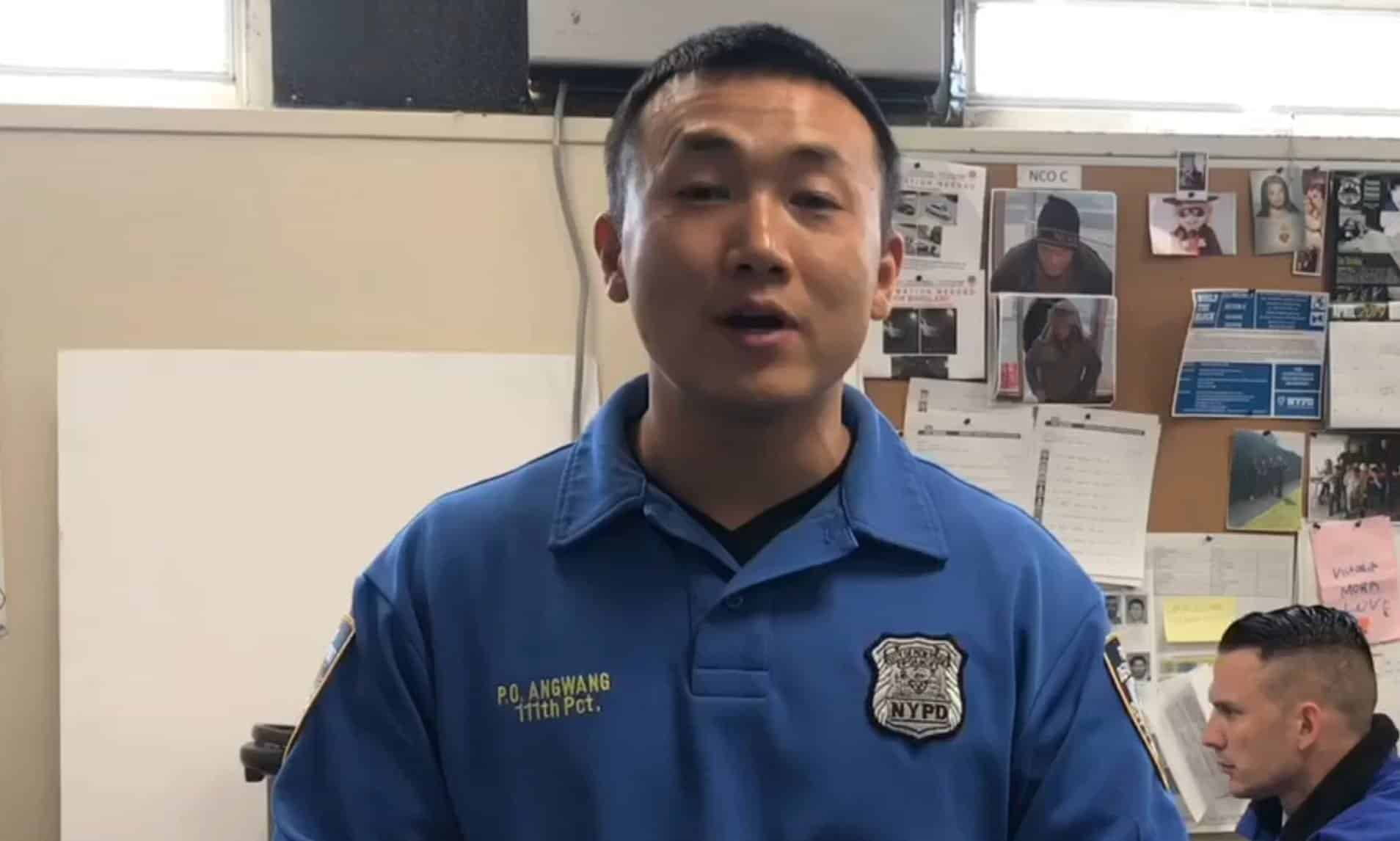 An NYPD officer who worked as an Illegal Chinese agent was caught