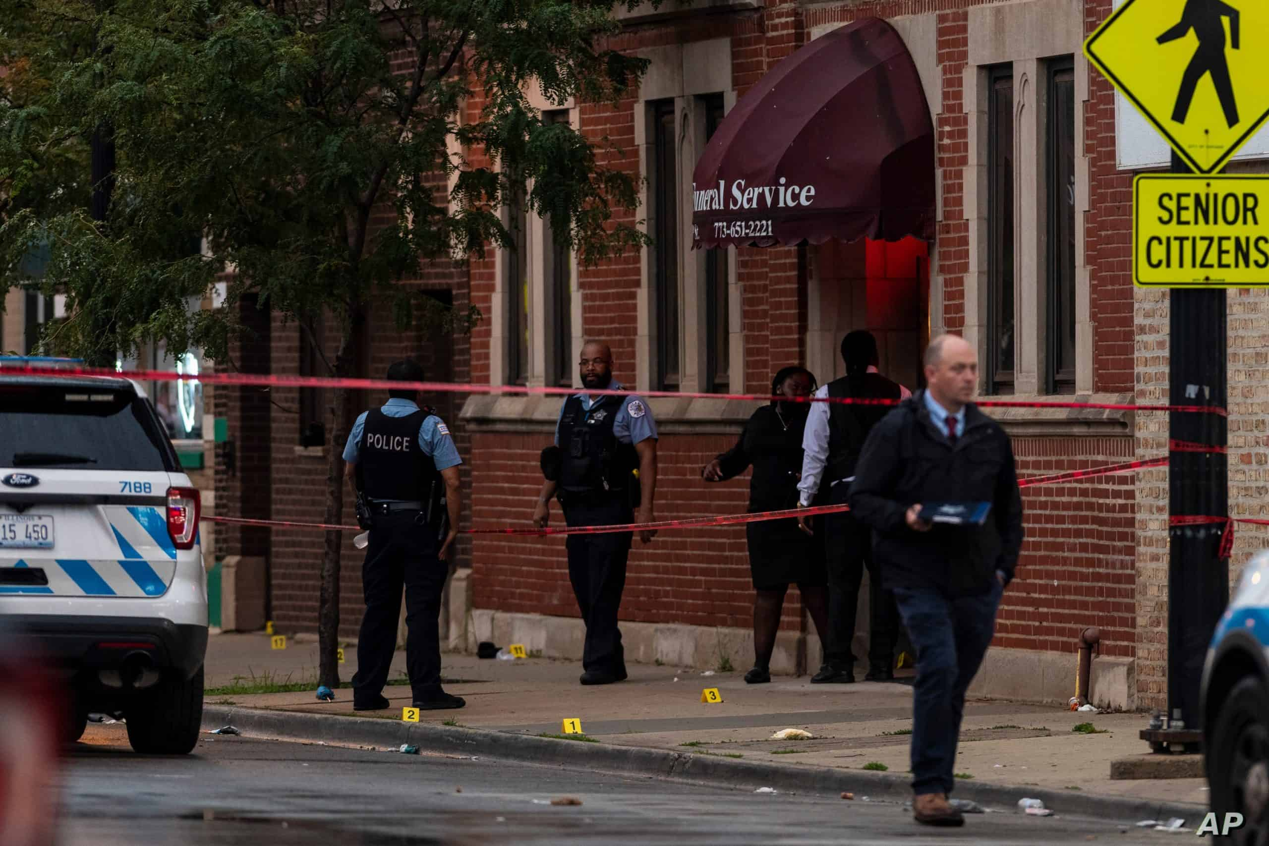 An increase in the homicides amid the pandemic is the cause of concern in Chicago