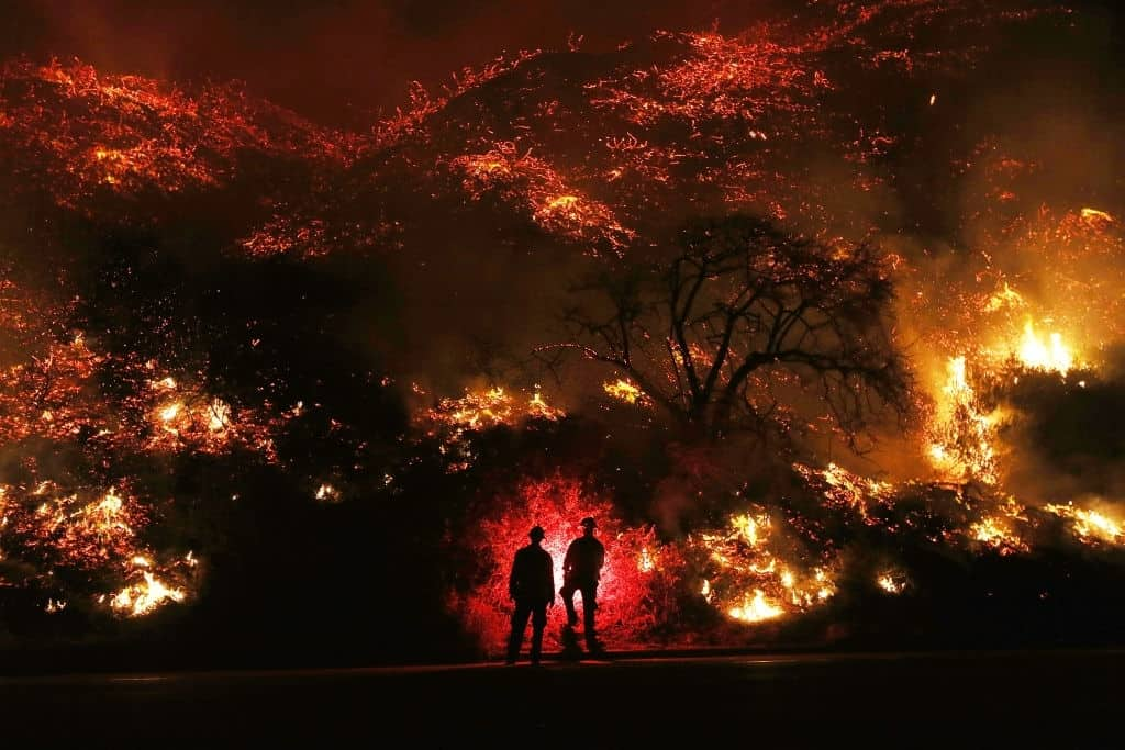 California fires destroy 2 million acres this year