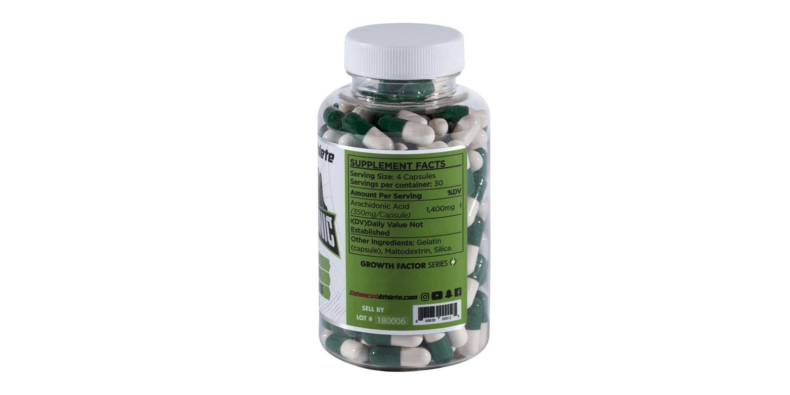 Enhanced Arachidonic Acid Supplement ingredients