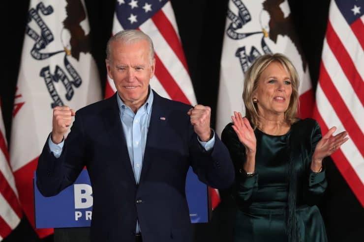 Joe and Jill Biden receive around $50k a year in social security benefits