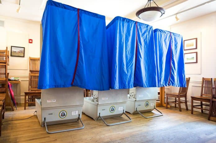 Pennsylvania warns on the naked polling booths