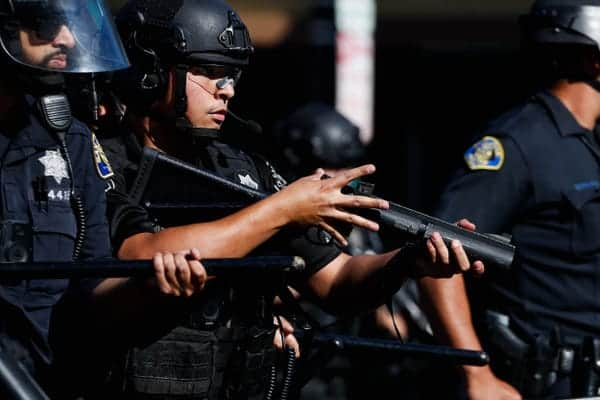 States begin to ban the use of rubber bullets by police