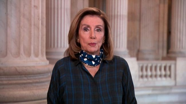 The government shut down cannot stop the Senate from voting, Says Pelosi