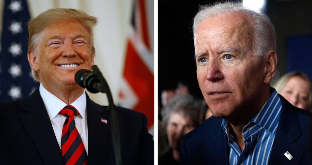 The issue of voter fraud will bring Joe and trump face to face