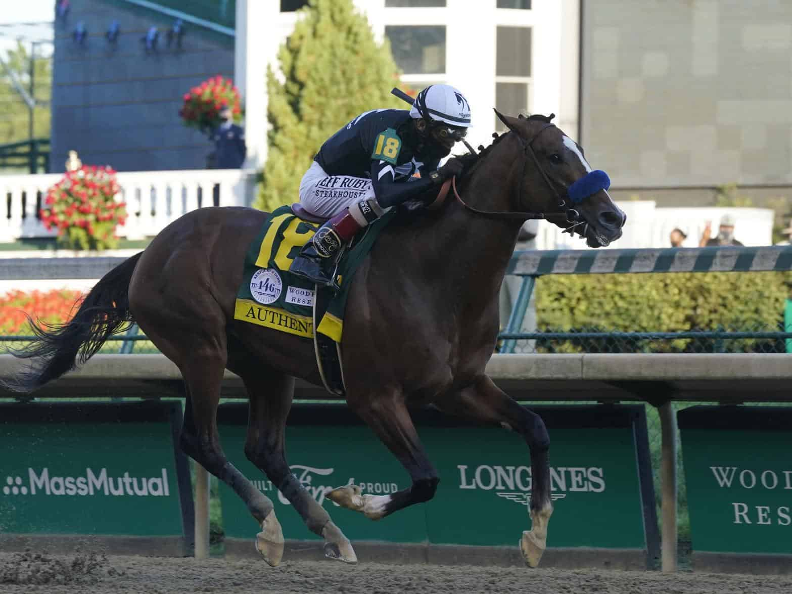 To Win The Kentucky Derby: Authentic Upsets Tiz The Law