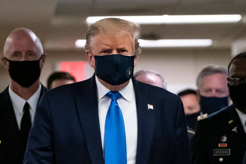 Trump attacks Biden on coronavirus mask mandates
