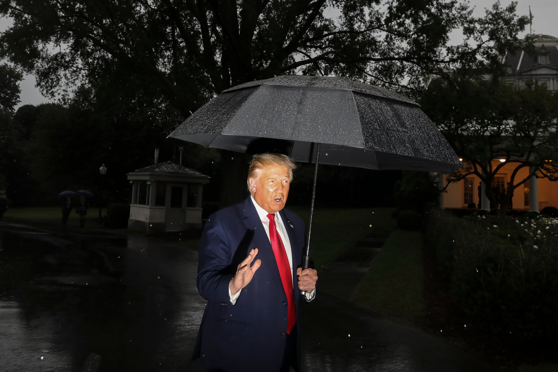 Trump's image has become a sham because of his deeds