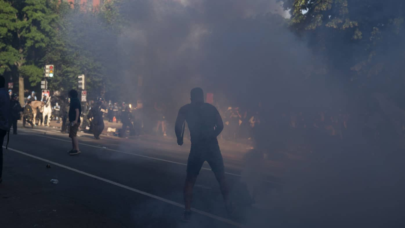 Use Of Heat Ray: Military Police Against DC Protestors