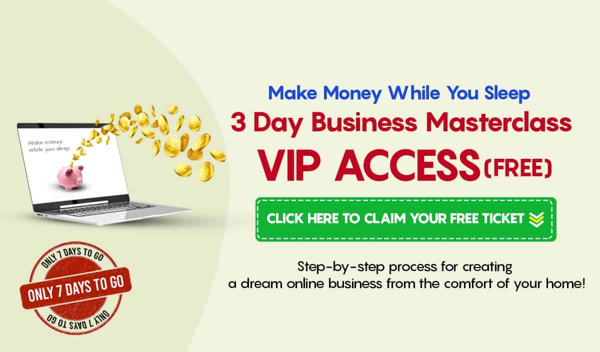 3 Day business Masterclass
