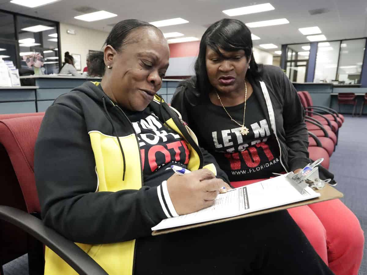 Ex-felons in Florida to expect speed payments for the deadline of the registration