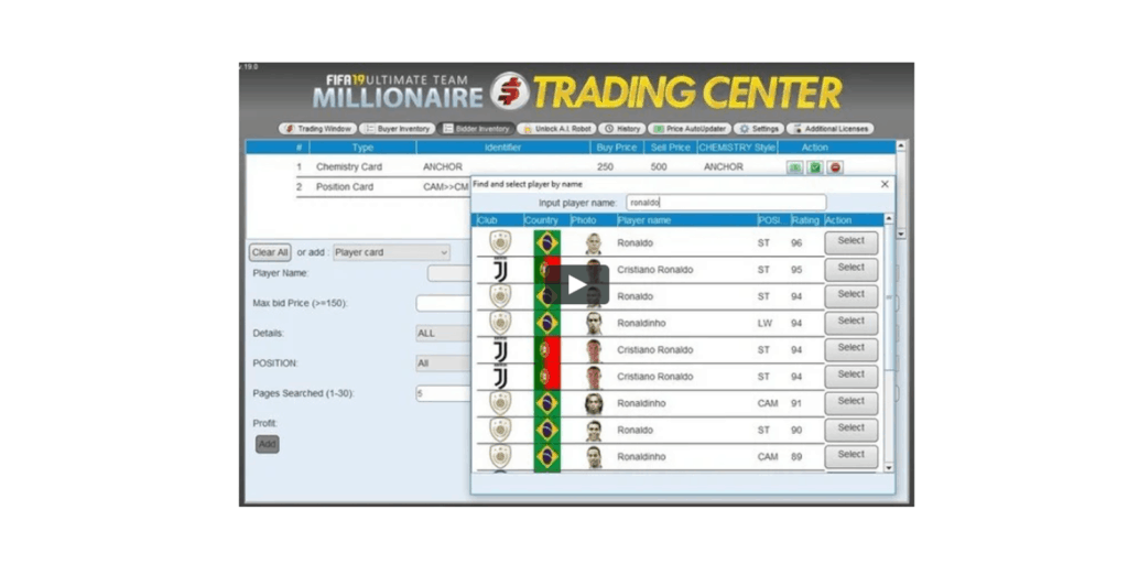 FUT Millionaire Trading Center Review
