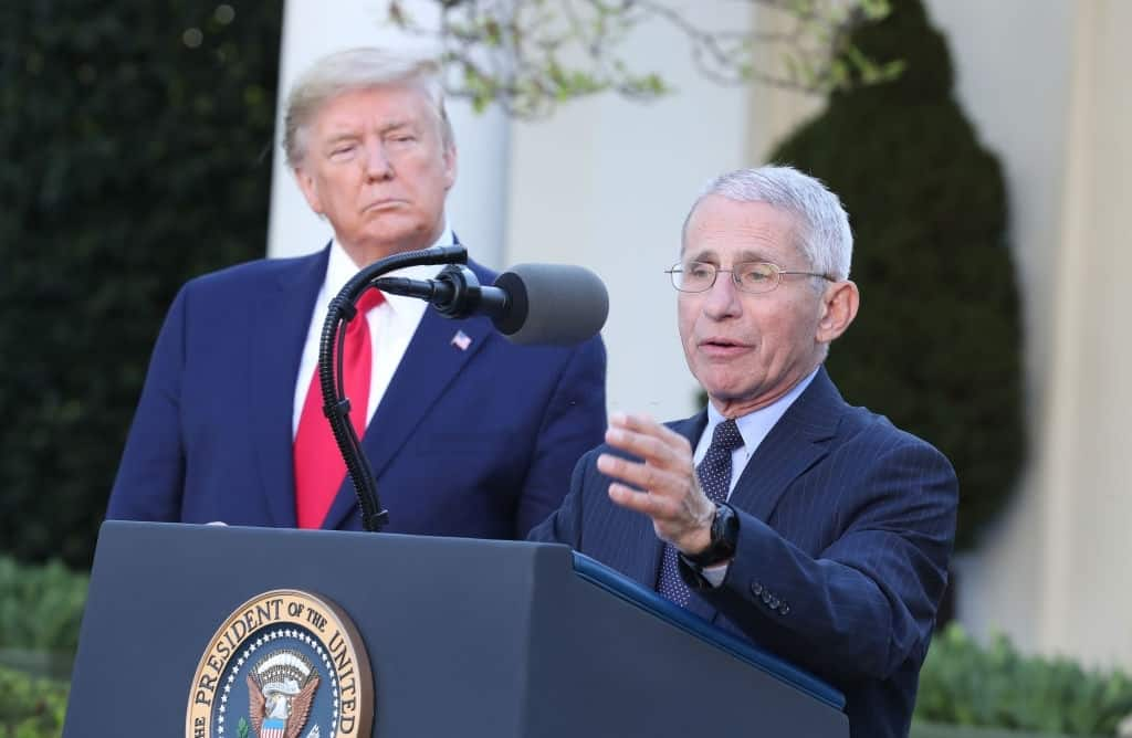 No Time To Meet Fauci As Said By Trump