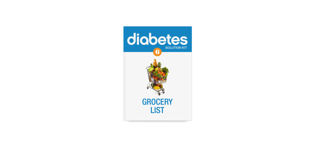 The Diabetes solution kit grocery list