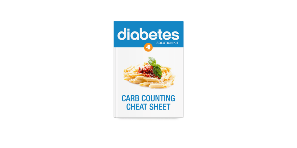 The carb-counting cheat sheet