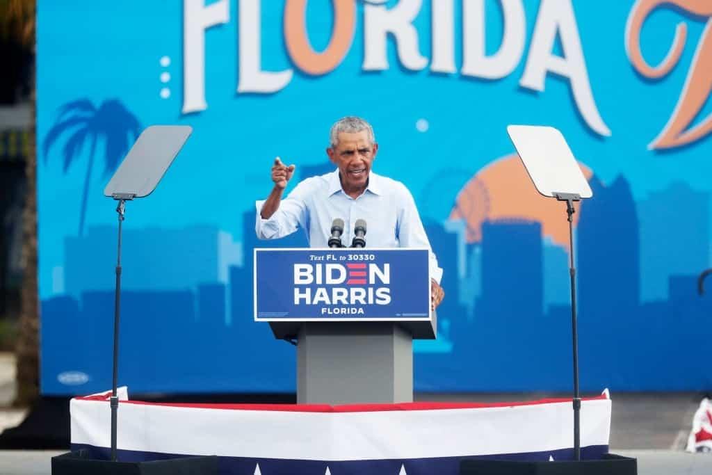 Trump, Harris Visit Arizona, Obama Unhappy With Covid Response