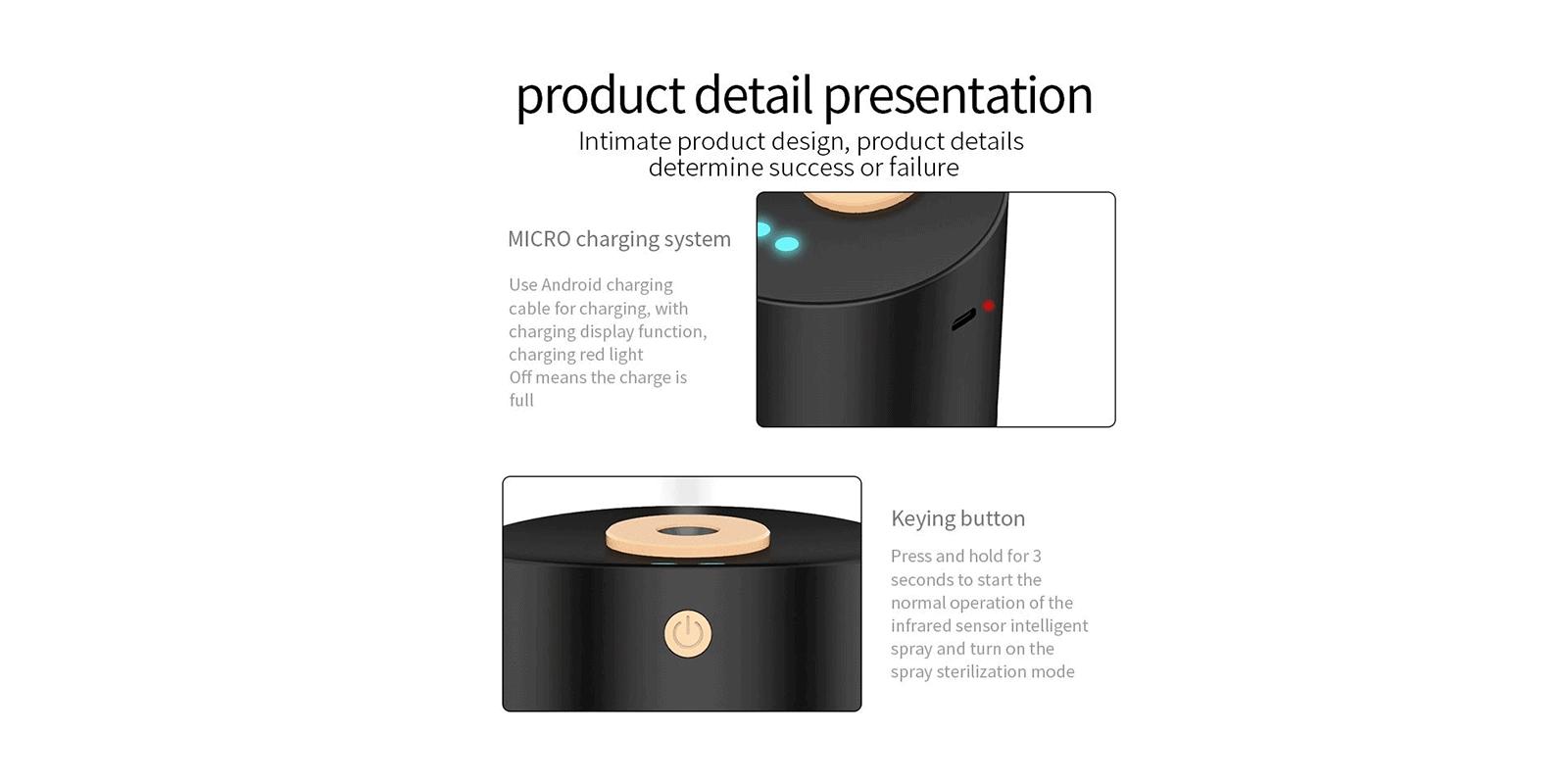 VapeSan Pro Portable Alcohol Sprayer