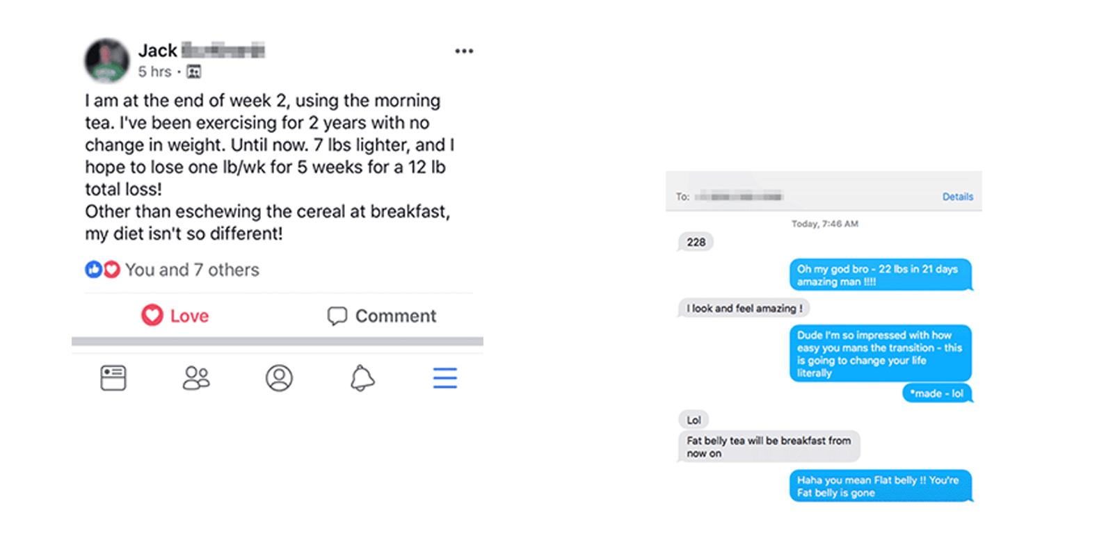flat belly tea customer reviews