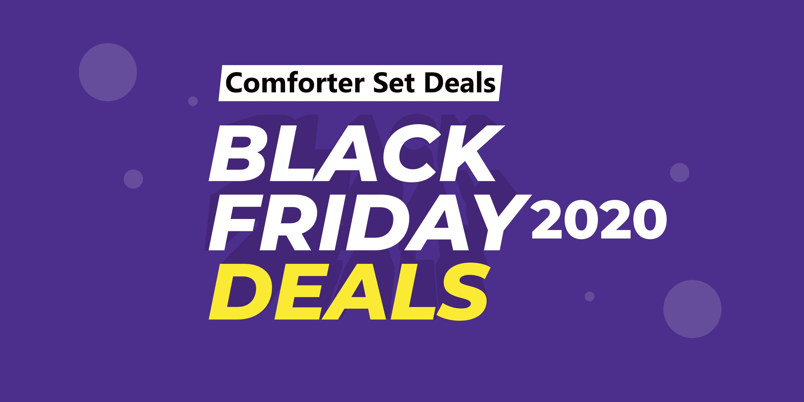 Comforter Set Black Friday Deals (2020) On Amazon