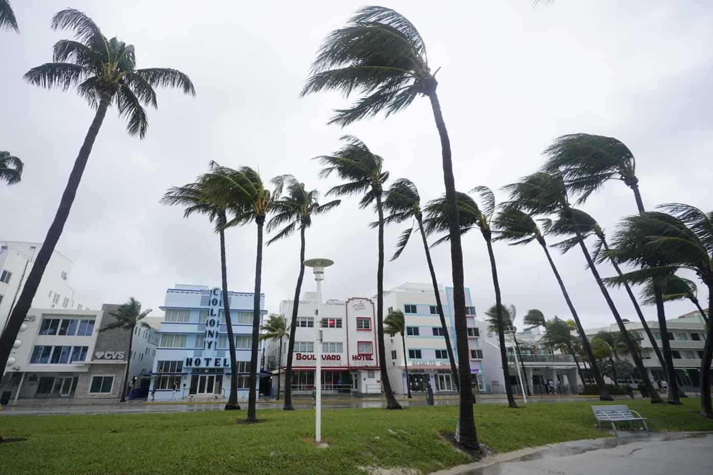 Eta Turning Destructive In South Florida