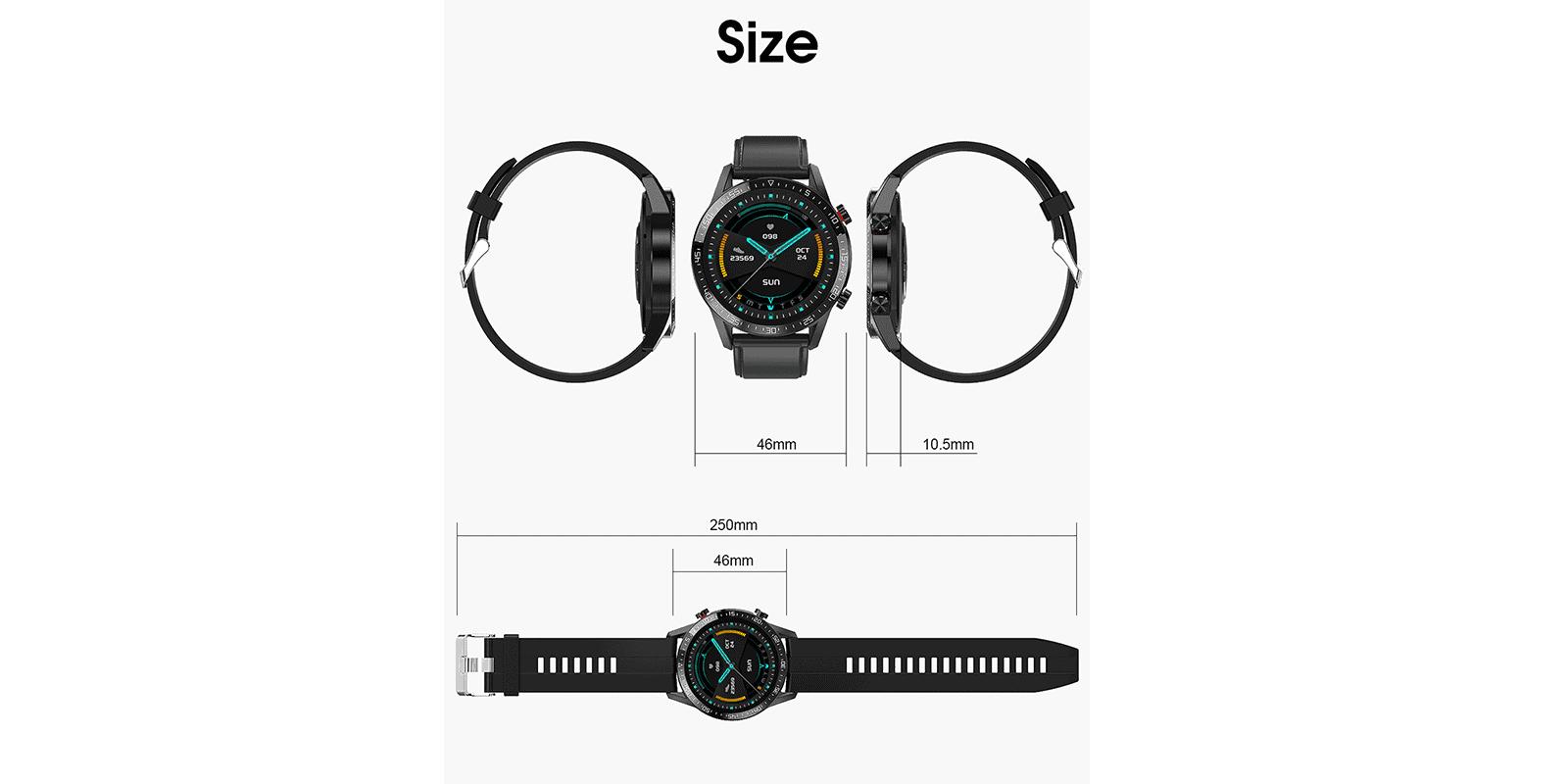 GX SmartWatch spec