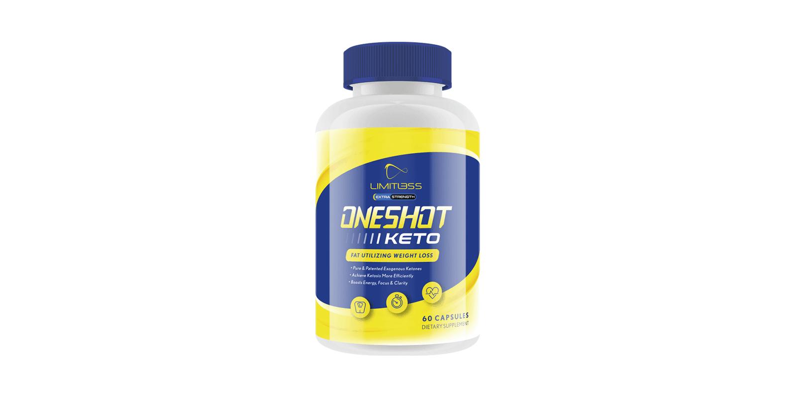 One shot keto supplement