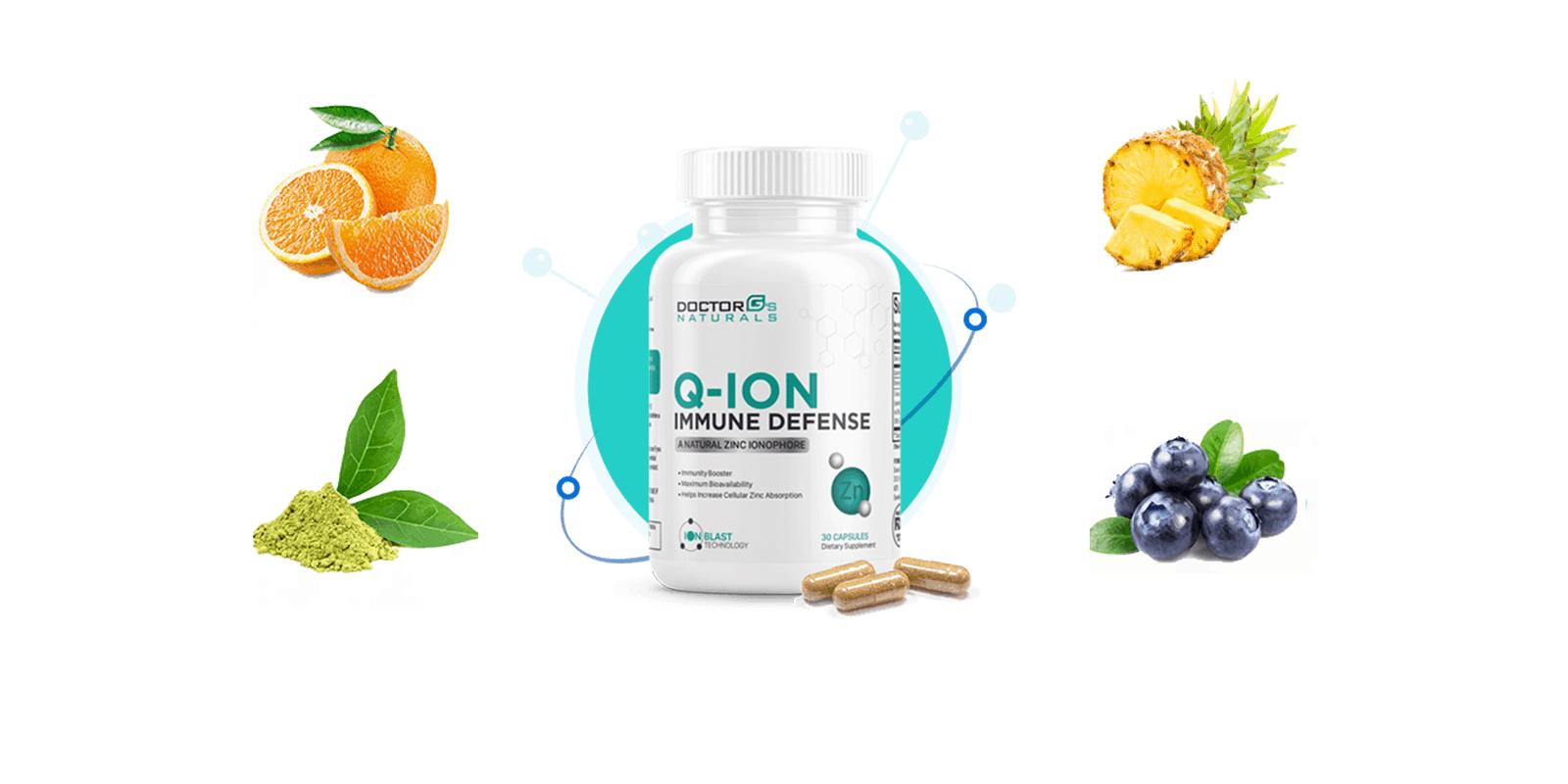 Q-ION Immune Defence ingredients