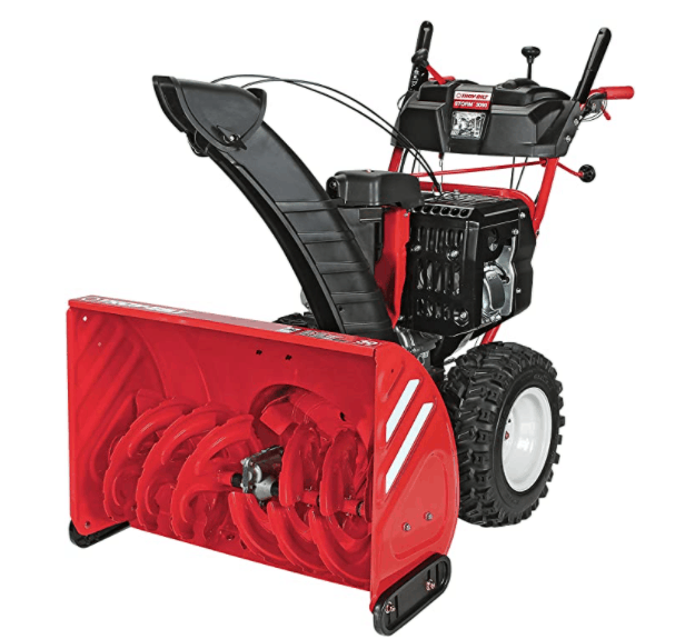 Troy- Bilt Storm electric start 30-inch two-stage gas snow thrower