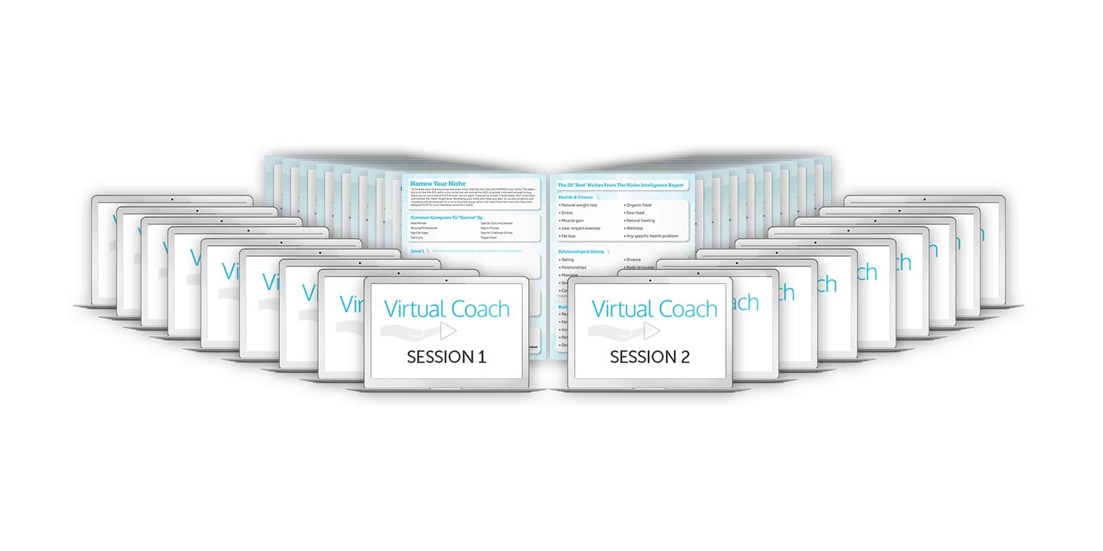 Reviews on virtual coaches