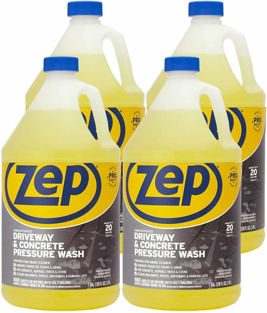 Zep Driveway and Concrete Pressure wash cleaner