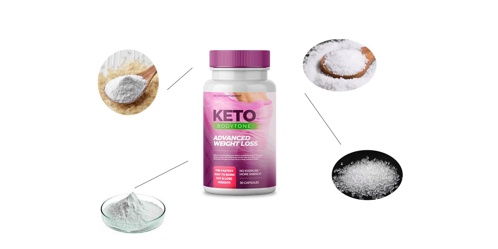 keto bodytone ingredients