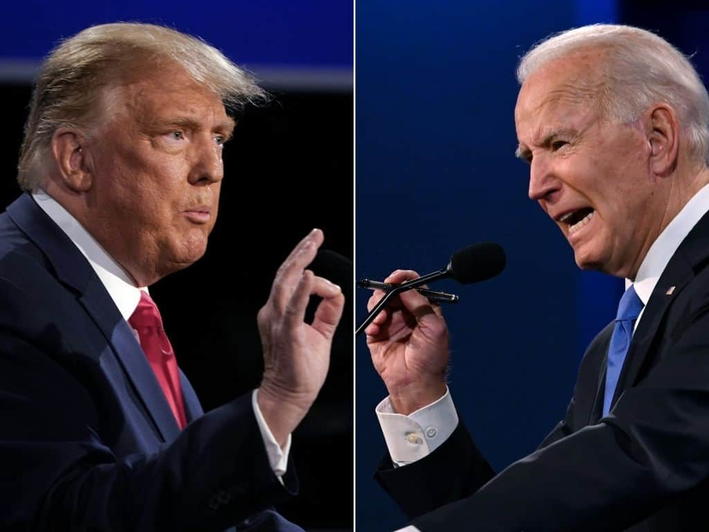 Biden's Favorability Rises To 55%; Trump Dips To 42%