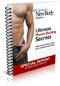 Bonus 3 Build More Muscle Natural Anabolics