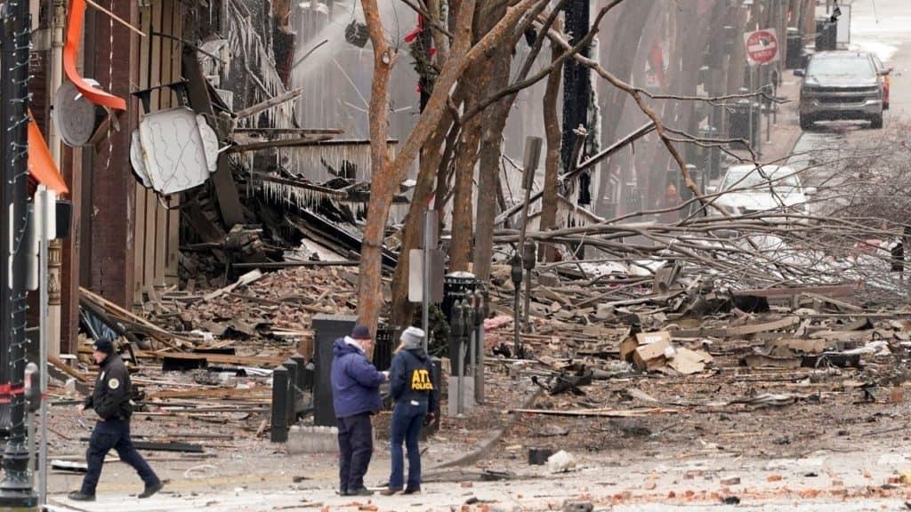 Explosions In Nashville