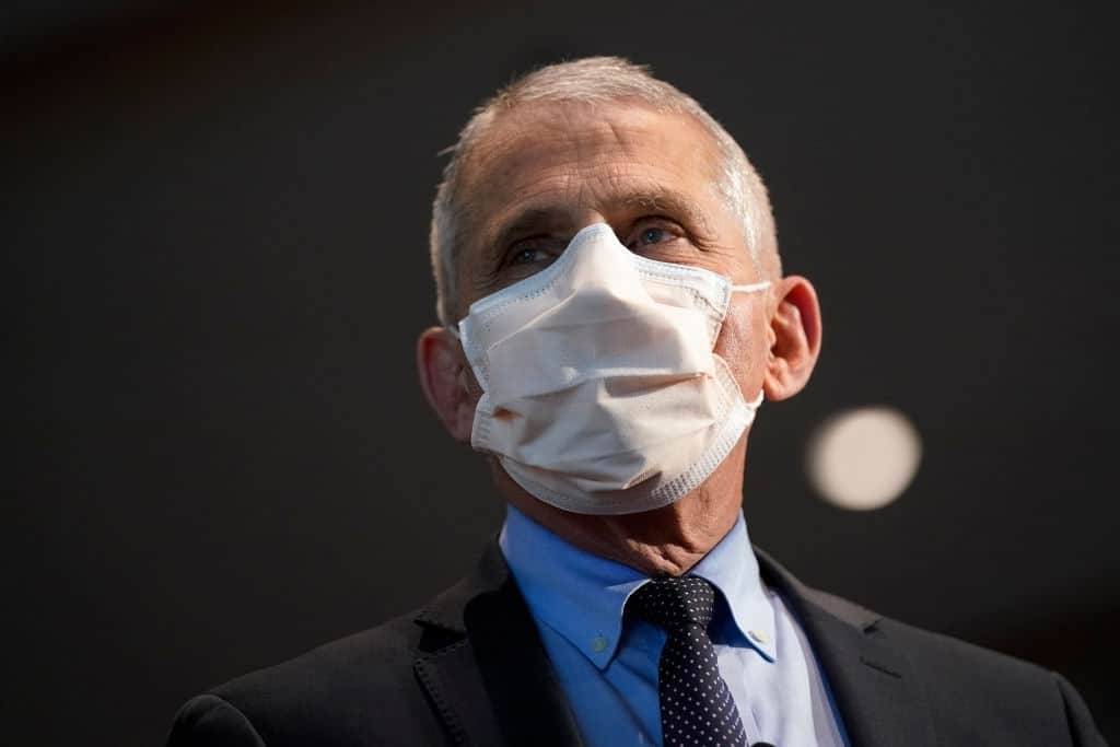 Fauci Says 70-85% Need To Be Vaccinated To Reach Herd Immunity