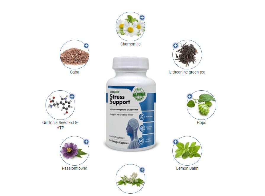 VitaPost Stress Support Ingredients