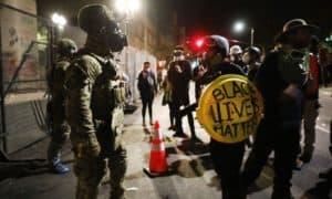 Oregon-Activists-Seek-Justice-After-The-Fatal-Shooting-Of-Black-Teenager