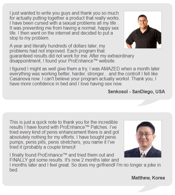 Proenhance customer Reviews