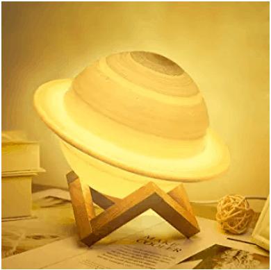 UooEA 3D Saturn Lamp
