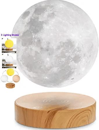 VGAzer Levitating Moon Lamp