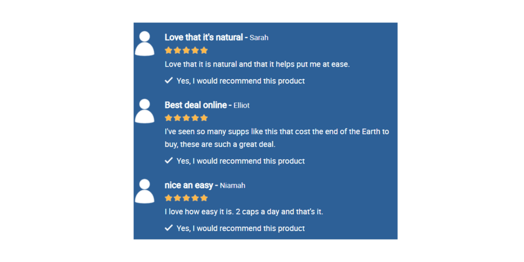 Vitapost Stress Support Customer Reviews