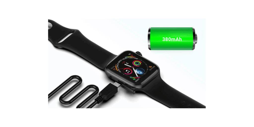 XWatch Reviews-380mah Long-Lasting Battery