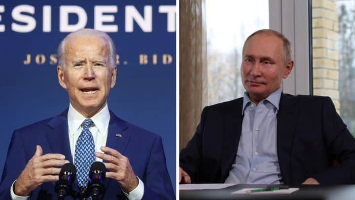 Biden's First Call To Putin Changes USA's Stand On Russia