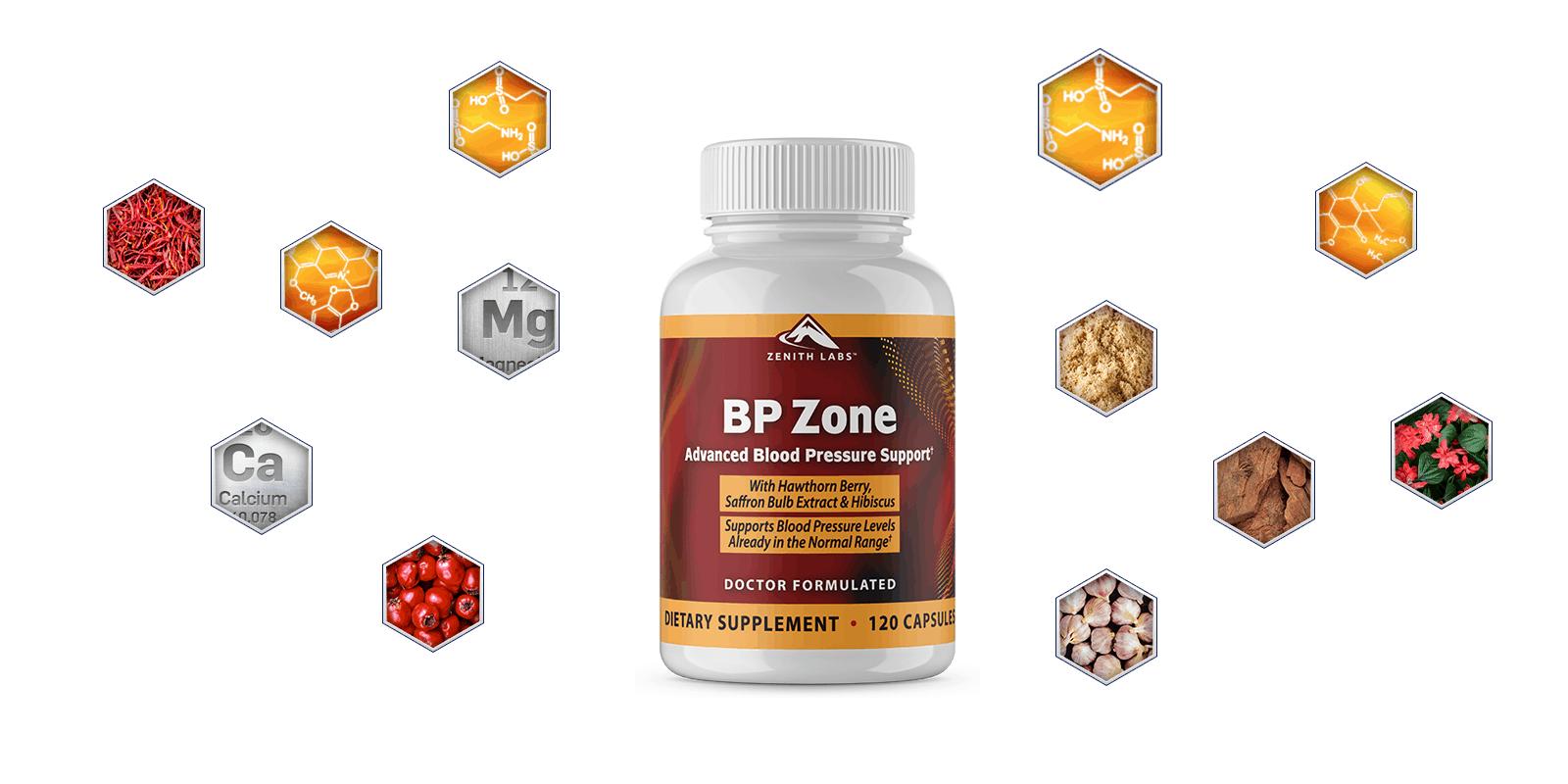 Bp Zone ingredients