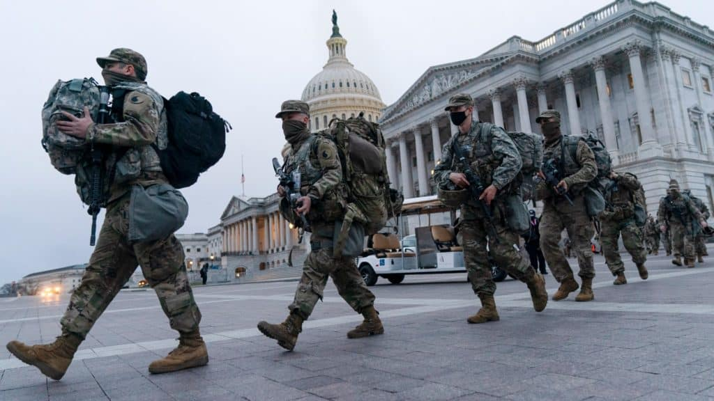 Hundreds Of National Guard Troops Test Positive For COVID-19 After Inauguration